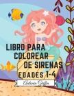 Libro para colorear de sirenas: Increíble 50 páginas para colorear para niños con divertidas y lindas sirenas y sus amigos - Páginas para colorear lin Cover Image