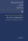 Re- De- Co-dification?: New Insights on the Codification of Private Law (Maastricht Law Series #6) Cover Image