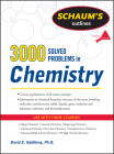 3,000 Solved Problems in Chemistry (Schaum's Outlines) Cover Image