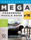 Simon & Schuster Mega Crossword Puzzle Book #16 Cover Image