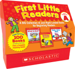 First Little Readers: Guided Reading Level A (Classroom Set): A Big Collection of Just-Right Leveled Books for Beginning Readers Cover Image