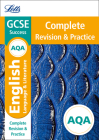 Letts GCSE Revision Success - New Curriculum – AQA GCSE English Language and English Literature Complete Revision & Practice Cover Image