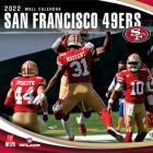 San Francisco 49ers 2022 12x12 Team Wall Calendar Cover Image