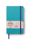 Bookaroo Notebook Journal - Turquoise Cover Image