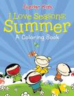 I Love Seasons: Summer (A Coloring Book) Cover Image