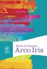 NTV Biblia de Estudio  Arco Iris, multicolor tapa dura Cover Image