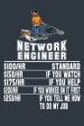 Network Engineer 100Hr Standard $150/Hr If You Watch $175/Hr If You Help $200/Hr If You Worked On It First $250/Hr If You Tell Me How To Do My Job: Fu Cover Image