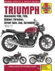 Triumph 900 & 1200, '16-'17 : Covers models with water-cooled engines (Haynes Powersport) Cover Image