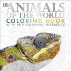 Animals of the World Coloring Book: With Photographic Reference Cover Image