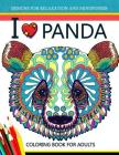I love Panda Coloring Book for Adult Cover Image