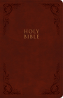KJV Large Print Personal Size Reference Bible, Burgundy LeatherTouch, Indexed Cover Image