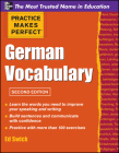 Pmp German Vocabulary 2e (Practice Makes Perfect) Cover Image
