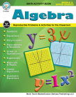 Algebra, Grades 5 - 12 Cover Image