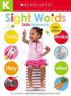 Sight Words Kindergarten Workbook: Scholastic Early Learners (Skills Workbook) Cover Image