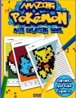 Amazing Pokemon Math: Cool Math Activity Book for Pokemon Go Fans Cover Image
