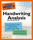 The Complete Idiot's Guide to Handwriting Analysis, 2nd Edition Cover Image