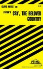 CliffsNotes on Paton's Cry, the Beloved Country Cover Image