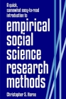 A quick, somewhat easy-to-read introduction to empirical social science research methods Cover Image