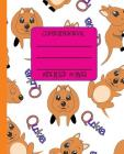 Wide Ruled Composition Book: The Cutest Animal in the World - Quokkas on Your Notebook Will Help Keep You Smiling at School, Work, or Home! Wonderf Cover Image