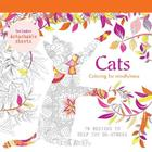 Cats: 70 Designs to Help You de-Stress Cover Image