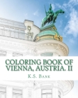 Coloring Book of Vienna, Austria. II Cover Image