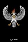 Egyptian Notebook: Egyptian Falcon God Horus Notebook Cover Image