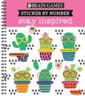 Brain Games - Sticker by Number: Stay Inspired Cover Image