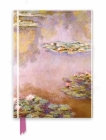 Monet: Waterlilies (Foiled Journal) (Flame Tree Notebooks) Cover Image