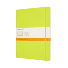 Moleskine Classic Notebook, Extra Large, Ruled, Lemon Green, Soft Cover (7.5 X 9.75) Cover Image