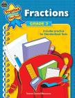 Fractions Grade 3 (Practice Makes Perfect (Teacher Created Materials)) Cover Image