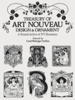 Treasury of Art Nouveau Design & Ornament (Dover Pictorial Archive) Cover Image