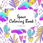 Space Coloring Book for Adults (8.5x8.5 Coloring Book / Activity Book) Cover Image