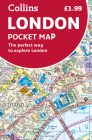 Collins London Pocket Map Cover Image
