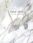 2020-2024 Five Year Planner: Large 60-Month Schedule Organizer with Marble Cover (Volume 3) Cover Image