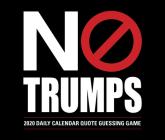 No Trumps 2020 Box Calendar Cover Image