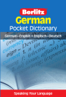Berlitz Pocket Dictionary German (Bilingual Dictionary) (Berlitz Pocket Dictionaries) Cover Image