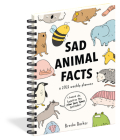 Sad Animal Facts Weekly Planner 2021 Cover Image