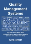 Quality Management Systems A guide to ISO 9001: 2015 Implementation and Problem Solving: Revised - 2nd edition June 2018 Cover Image