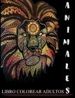 Animales Libro Colorear Adultos: Mandalas Animales, libro de colorear para adultos mandalas, Diseños para aliviar el estrés para la relajación de adul Cover Image