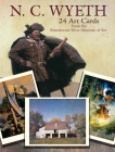 N. C. Wyeth 24 Art Cards: From the Brandywine River Museum of Art (Dover Postcards) Cover Image