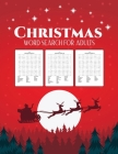 Christmas Word Search for Adults: Puzzle Book - Holiday Fun For Adults and Kids - Activities Crafts - Games Cover Image