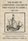 The Diario of Christopher Columbus's First Voyage to America, 1492-1493 Cover Image