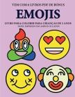 Livro para colorir para crianças de 2 anos (Emojis): Este livro tem 40 páginas coloridas com linhas extra espessas para reduzir a frustração e melhora Cover Image
