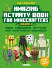 Amazing Activity Book for Minecrafters: An Unofficial Book from Gameplay Publishing Cover Image