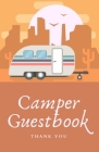 Camper Guestbook: A guestbook for your rental camper Cover Image