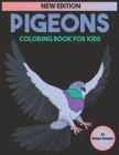 Pigeons Coloring Book For Kids: 35 Unique Designs Cover Image