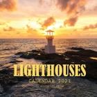 Lighthouses Calendar 2021: 16 Month Calendar Cover Image