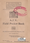 A.F.V. Field Pocket Book 1942 Cover Image
