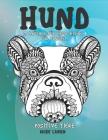 Malbücher für Erwachsene für Frauen - Dicke Linien - Positive Tiere - Hund Cover Image