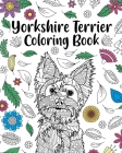 Yorkshire Terrier Coloring Book Cover Image